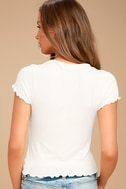 Project Social T Lainey Ivory Tee 3