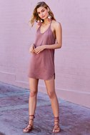 Thrilled to Bits Mauve Dress 7