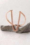Chic as Can Be Rose Gold Bracelet 2