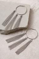 Brightest Light Silver Earrings 2