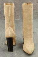 Emmaline Natural Mid-Calf Boots 4