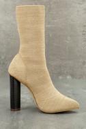 Emmaline Natural Mid-Calf Boots 3