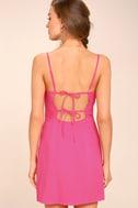 Sweetest Day Fuchsia Mini Dress 3