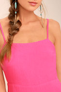 Sweetest Day Fuchsia Mini Dress 4
