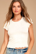 Project Social T Lainey Ivory Tee 4