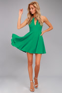 Glamorous Grace Green Dress 1