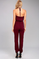Learning to Fly Burgundy Jumpsuit 3
