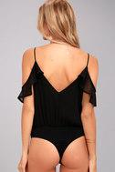 Feels Black Off-the-Shoulder Bodysuit 4