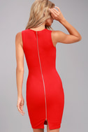 Quite Spectacular Red Bodycon Dress 3