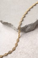 Etienne Gold Choker Necklace 2