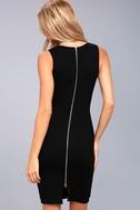 Quite Spectacular Black Bodycon Dress 3