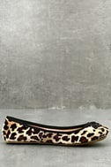LFL Tinker Leopard Print Velvet Flats 2
