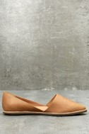Chelsea Crew Vance Tan Leather Flats 3