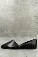Chelsea Crew Vance Black Leather Flats 1