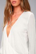 Ryland White Long Sleeve Top 4