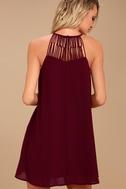 Tell Me Plum Purple Swing Dress 3