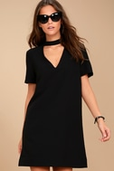 Your One and Only Black Cutout Shift Dress 3