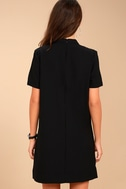 Your One and Only Black Cutout Shift Dress 4