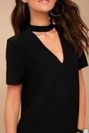 Your One and Only Black Cutout Shift Dress 5