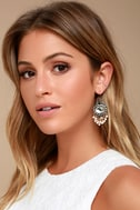 Luxe Looks Gold and Pearl Earrings 1