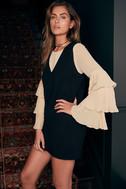 New York Move Black Sleeveless Sweater Dress 5