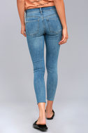 Free People Reagan Light Wash Skinny Jeans 4