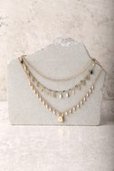 Last Forever Gold Layered Necklace 1