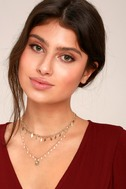 Last Forever Gold Layered Choker Necklace 1