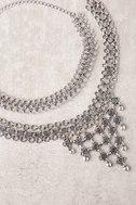 Dream Collaboration Silver Choker Necklace Set 1