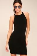 I Bet Black Bodycon Dress 3