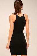 I Bet Black Bodycon Dress 4