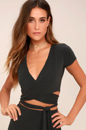 Back in Brooklyn Washed Black Two-Piece Maxi Dress 2