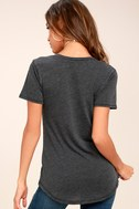 Z Supply Pleasant Surprise Washed Black Tee 9