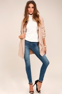 Lucky Break Blush Oversized Jacket 8