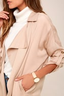 Lucky Break Blush Oversized Jacket 12