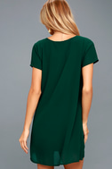 Freestyle Forest Green Shift Dress 4