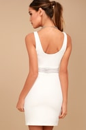 Pendulum White Bodycon Dress 7
