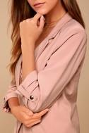 Put Together Blush Pink Blazer 4