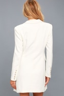 Captain's Blog White Double-Breasted Coat 1