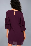 Move and Shake Plum Purple Shift Dress 3