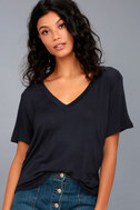 Tee for You Navy Blue Tee 1
