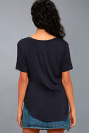 Tee for You Navy Blue Tee 3
