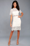 Remarkable White Lace Dress 2