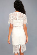 Remarkable White Lace Dress 4