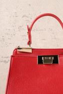 Candy Apple Red Handbag 3