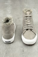 2795 Shearling Grey High-Top Sneakers 5