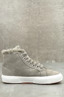 2795 Shearling Grey High-Top Sneakers 3