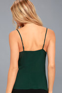 Take Note Forest Green Wrap Top 3