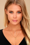 Good Natured Gold Layered Necklace 1