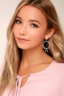 Beloved Babe Silver and Pink Earrings 1